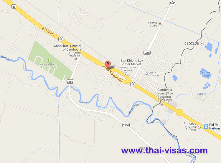 Thai Immigration in Sa Kaeo