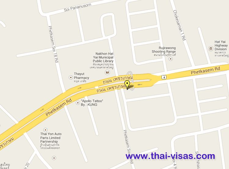 Thai Immigration in Songkhla