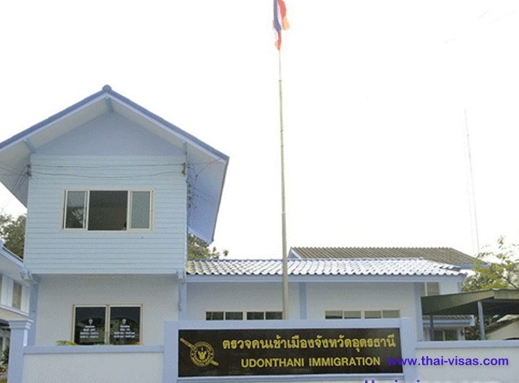 Thai Immigration in Udon Thani