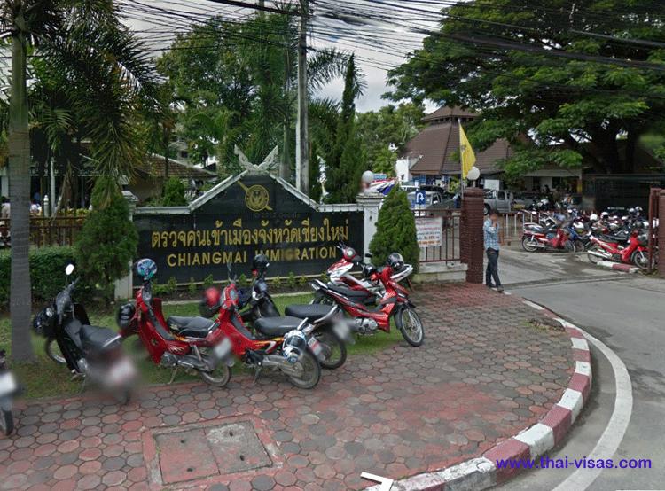 Thai Immigration Chiang Mai