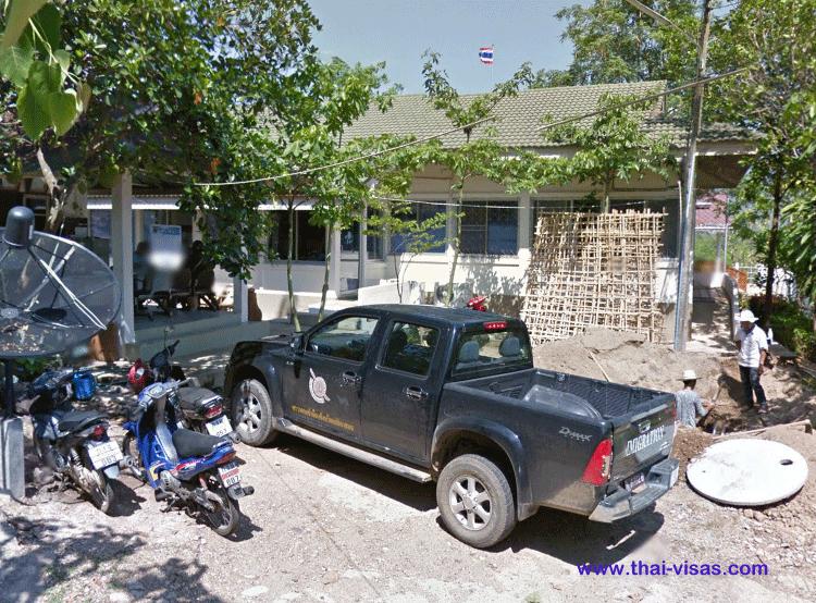 Thai Immigration Mae Hong Son