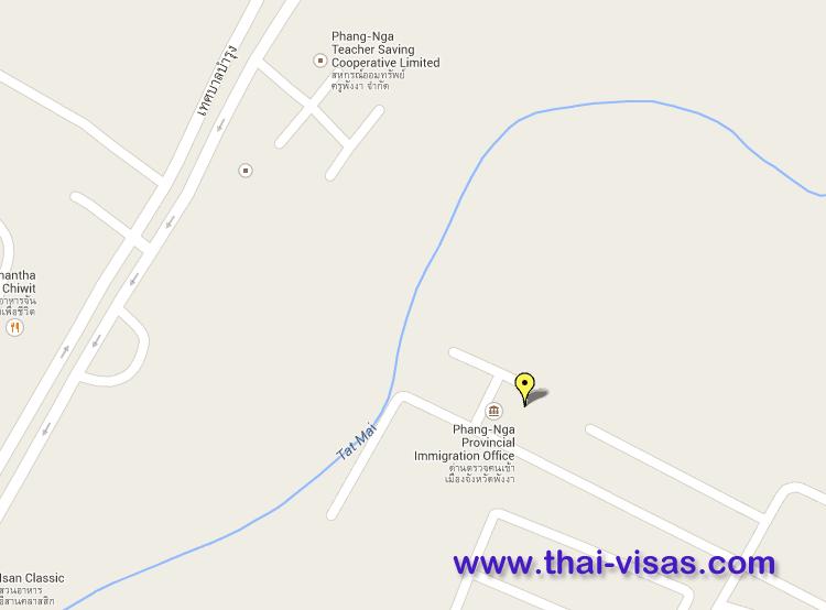 Thai Immigration in Pang Nga