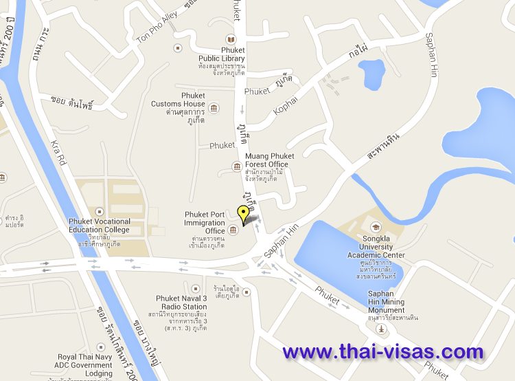 Thai Immigration in Phuket