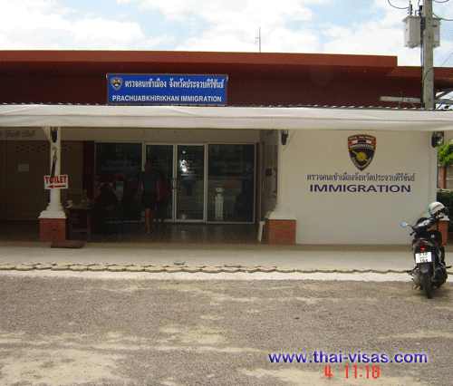 Thai Immigration in Hua Hin