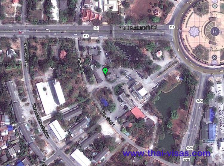 Thai Immigration in Lopburi