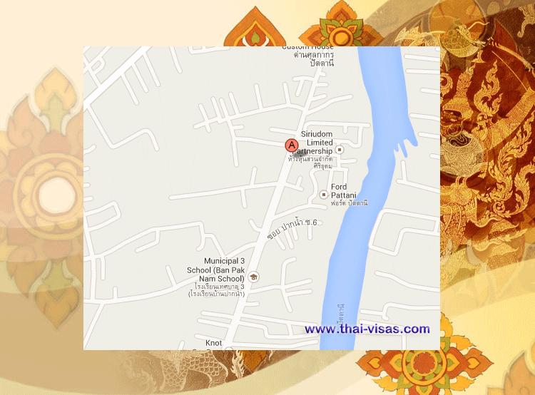 Thai Immigration in Pattani