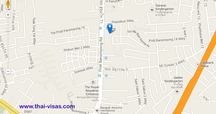 Nigerian Embassy in Thailand